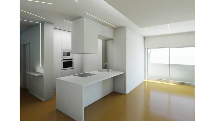 Moderne Schlafzimmer von Albertina Oliveira-Arquitetura Unipessoal Lda Modern
