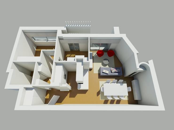 modern  von Albertina Oliveira-Arquitetura Unipessoal Lda, Modern