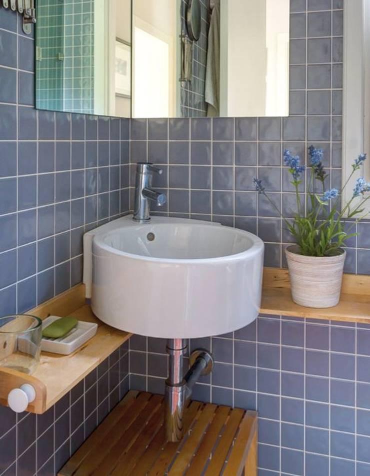 Ванные комнаты в . Автор – albion985, Рустикальный