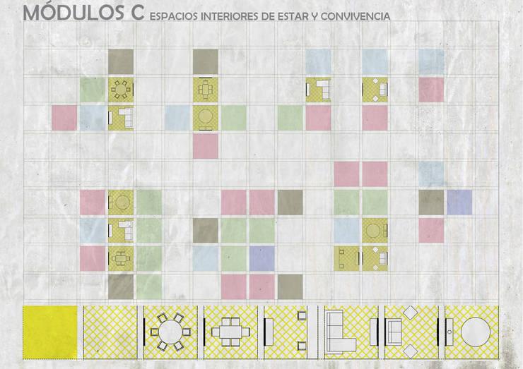Столовые комнаты в . Автор – gOO Arquitectos, Лофт