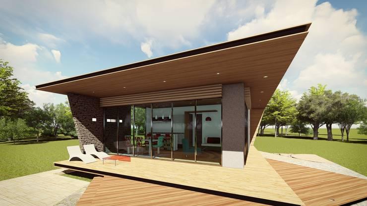 房子 by MÈNDEZ arquitectos
