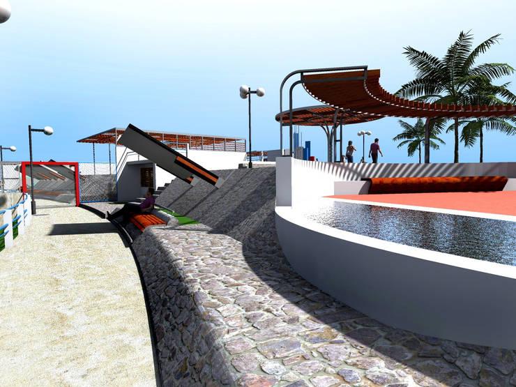 Piscinas de estilo  por Paz Ingenieros & Arquitectos