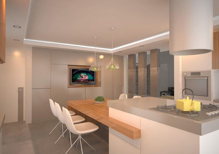 modern Kitchen by ARKIZA