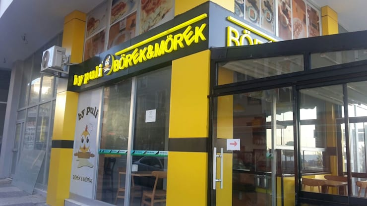 Large Mimarlik – By Puli Börek&Mörek Cafe Tadilat İşi:  tarz Evler