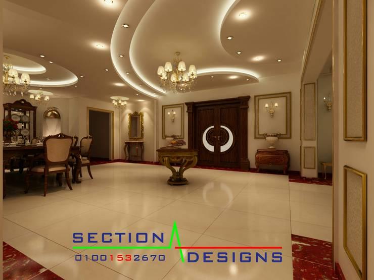 التجمع الخامس . المستسمرين . :  منازل تنفيذ section designs