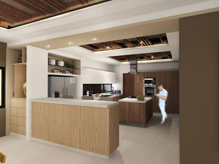 Cocina: Cocinas de estilo  por Constructora e Inmobiliaria Catarsis