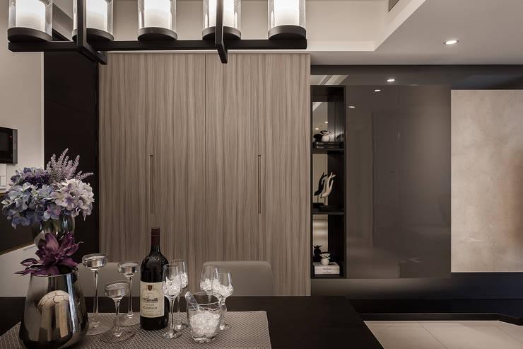 鞋櫃:  餐廳 by 你你空間設計
