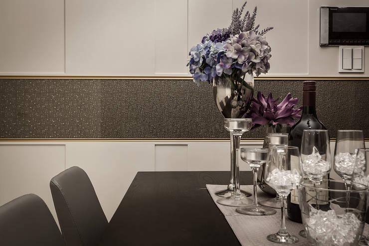 腰帶點綴:  餐廳 by 你你空間設計