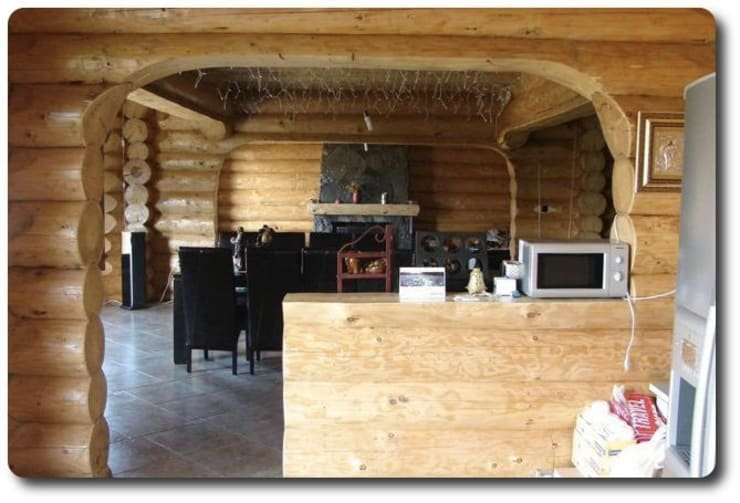 Interiores: Comedores de estilo rústico de Soluciones Ecologicas Vidanatural