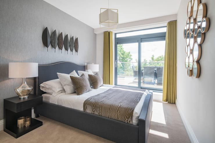 غرفة نوم تنفيذ Jigsaw Interior Architecture