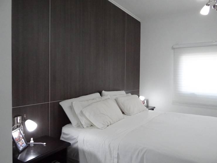 REFORMA VIVIENDA: Dormitorios de estilo  por D'ODORICO OFICINA DE ARQUITECTURA