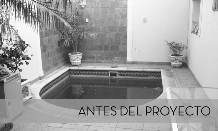 ANTES DEL PROYECTO:  de estilo  por D'ODORICO OFICINA DE ARQUITECTURA