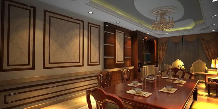 Dining room by القصر للدهانات والديكور