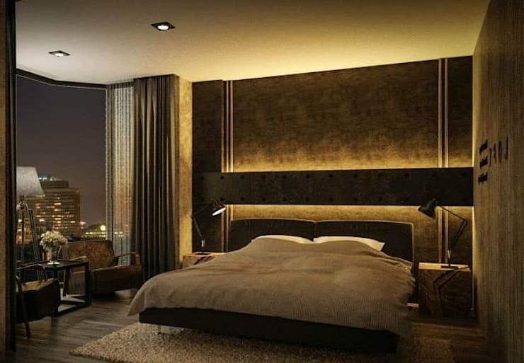Bedroom by القصر للدهانات والديكور