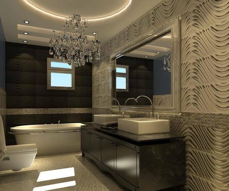 Bathroom by القصر للدهانات والديكور