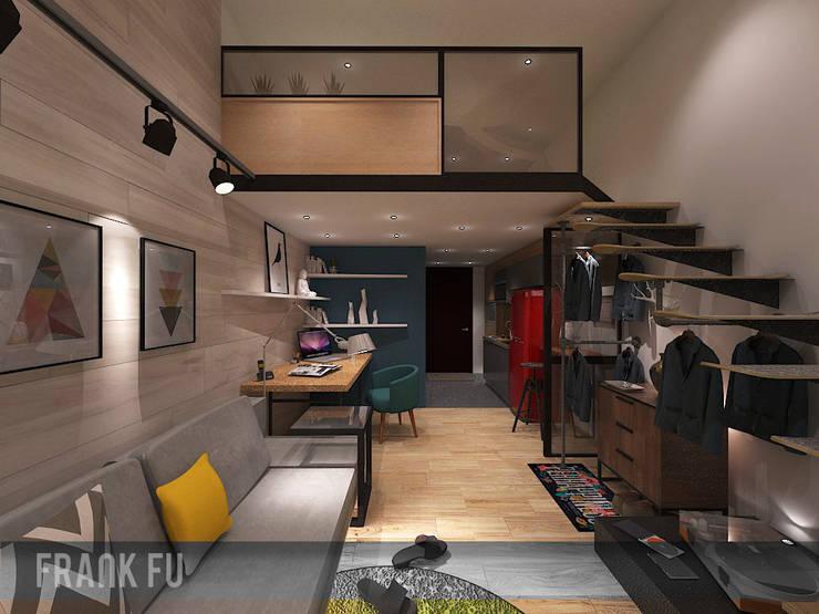 Live your life:  客廳 by 中孚 設計 / FRANKFU INERIOR DESIGN
