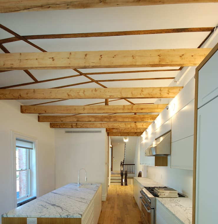 Brooklyn Brownstone: modern Kitchen by SA-DA Architecture