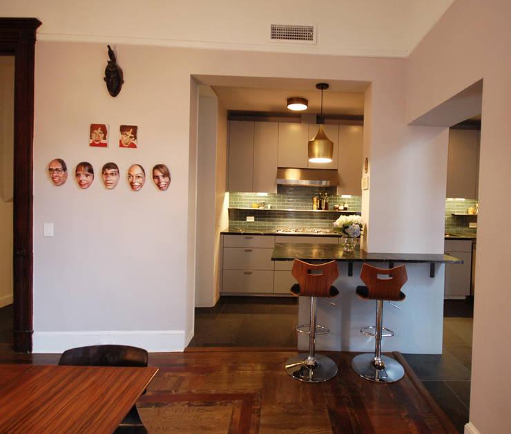 Washington Avenue Brownstone: modern Kitchen by SA-DA Architecture