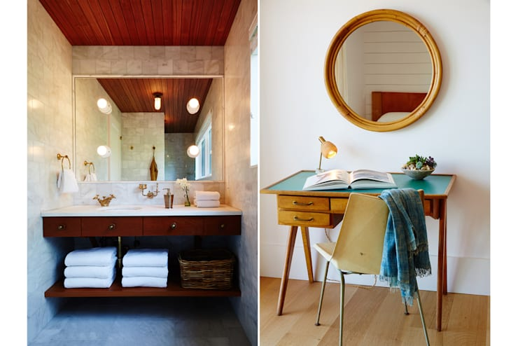 Old Montauk Highway House:  Bathroom by SA-DA Architecture