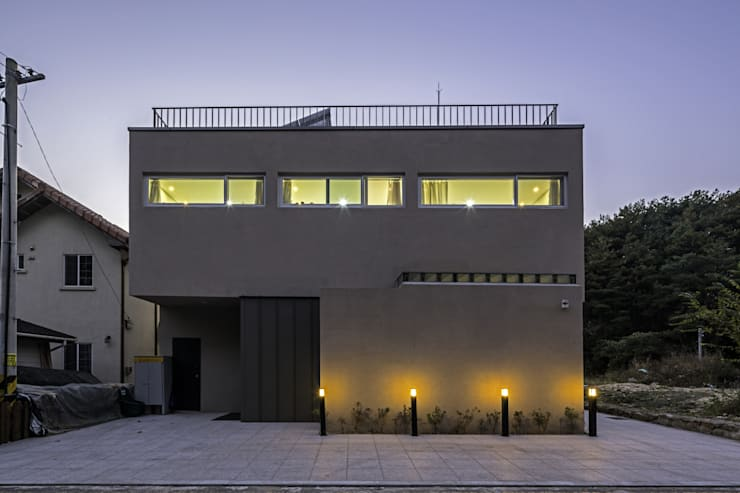 대구 주택 _ 서가네     Daegu Gachang House _ seogane: isangwon architects의  주택