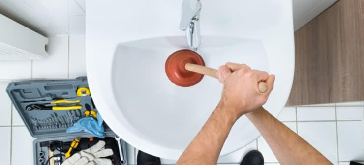 Unclogging Sinks:   by Plumbers Pretoria