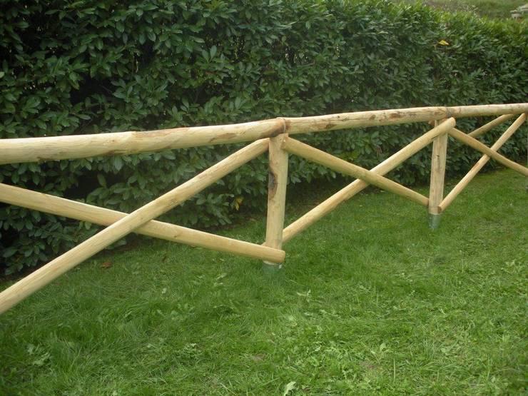 Staccionate e recinzioni in legno massiccio di onlywood for Staccionata in legno brico