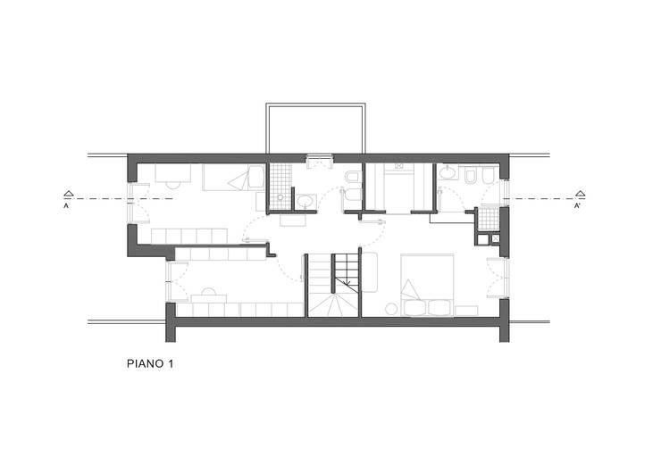 CASA S. GROSSETO:  in stile  di OKS ARCHITETTI, Minimalista
