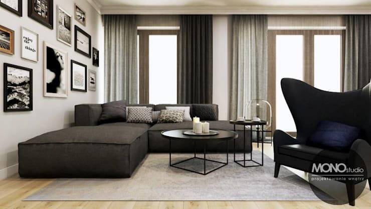 Ruang Keluarga by MONOstudio