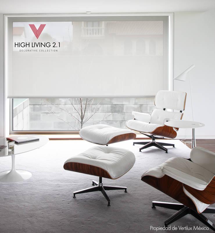 Tejido Garbi White: Estudios y oficinas de estilo  por Vertilux México
