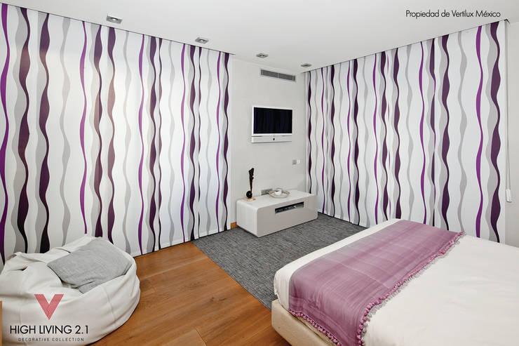Dormitorios de estilo  por Vertilux México