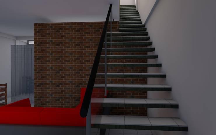 CASA SS001 Casas modernas de Spacio.Status/Arquitectura Moderno Madera Acabado en madera