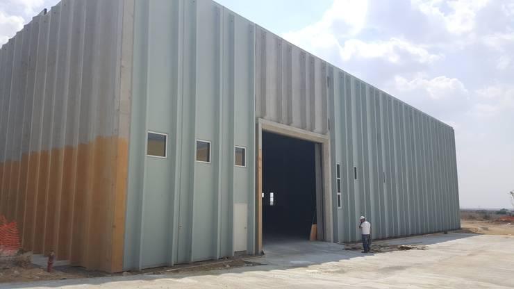 MAG Tasarım Mimarlık İnşaat Emlak San.ve Tic.Ltd.Şti. – MTO Motor Türbinleri A.Ş:  tarz , Endüstriyel