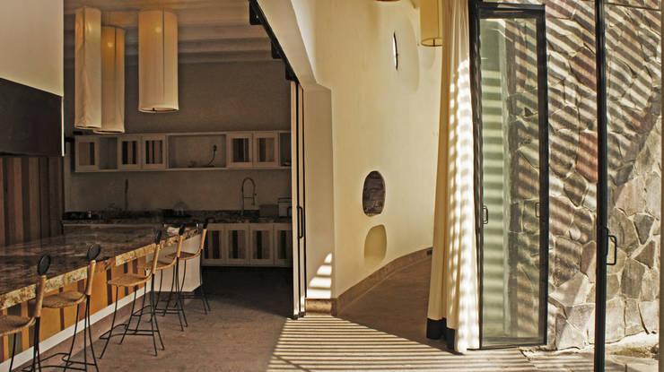 الممر والمدخل تنفيذ Juan Carlos Loyo Arquitectura