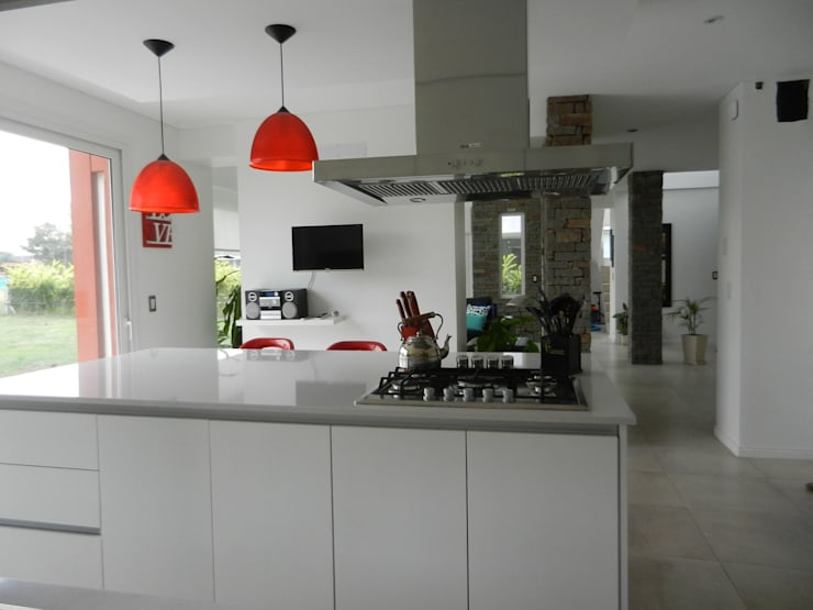 Arquitectura y Diseño: Cocinas de estilo  por Jf Arquitectura + Diseño
