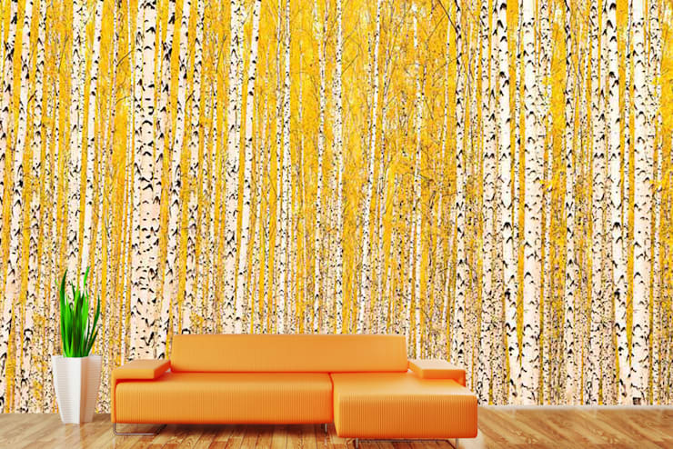 Motifs on easily removable wallpaper for walls suitable for modern home decor and home interiors. Walls and Murals:   by wallsandmurals