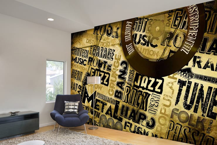 Text graphic wallpaper designs using custom wallpaper maker for modern wall decor ideas. Walls and Murals:   by wallsandmurals