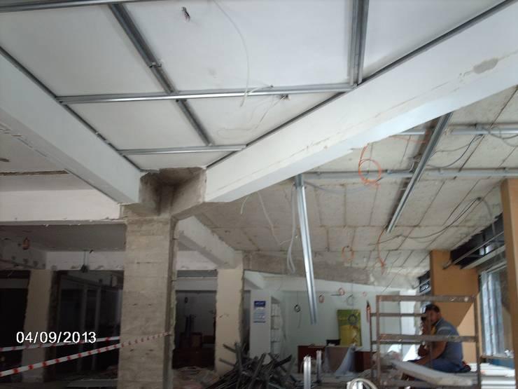 MAG Tasarım Mimarlık İnşaat Emlak San.ve Tic.Ltd.Şti. – Garanti İplik Çorlu:  tarz Ofisler ve Mağazalar