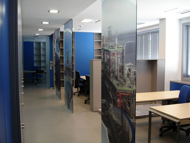 Áreas de trabalho: Escritórios  por Área77 - arquitectura, engenharia e design, lda