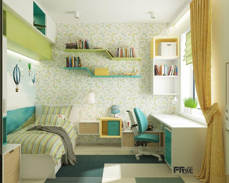 детская комната для мальчика: Детские комнаты в . Автор – 'PRimeART'