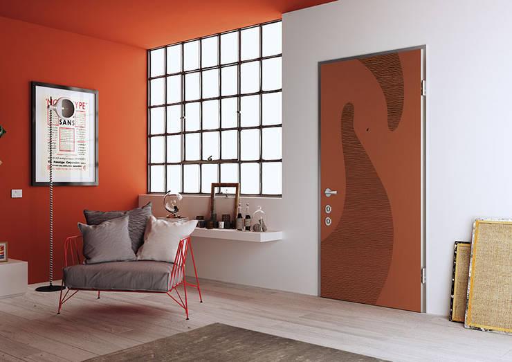 Puertas y ventanas de estilo  por Di.Bi.