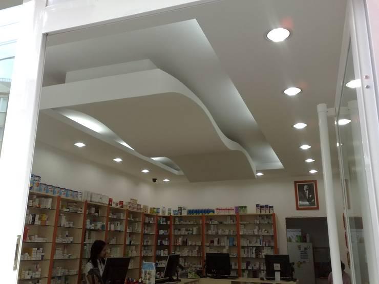 MAG Tasarım Mimarlık İnşaat Emlak San.ve Tic.Ltd.Şti. – Gürkan Eczanesi Çorlu:  tarz Ofisler ve Mağazalar