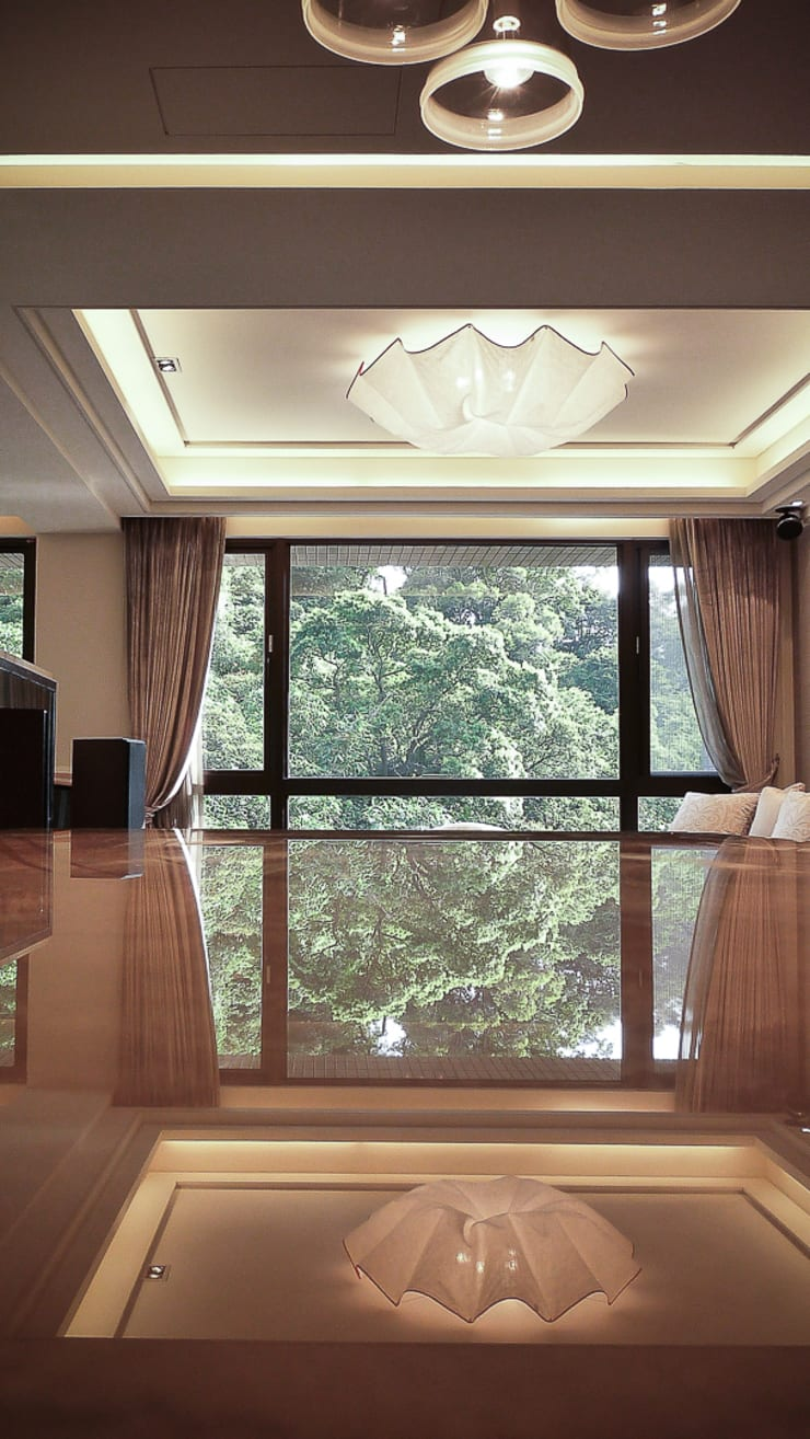 Salones de estilo  de 璞碩室內裝修設計工程有限公司