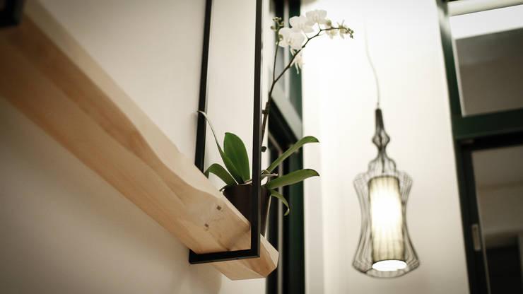 BRAVO INTERIOR DESIGN & DECO    NEW JP STYLE:  客廳 by 璞碩室內裝修設計工程有限公司
