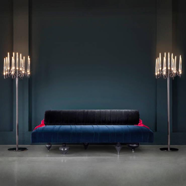 Living room by Il Pezzo Mancante Srl