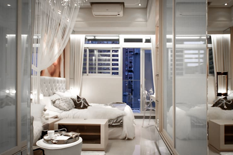 BRAVO INTERIOR DESIGN & DECO    KAWA STYLE:  臥室 by 璞碩室內裝修設計工程有限公司