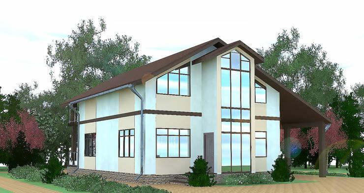 minimalistic Houses by Садовникова Наталья Евгеньевна