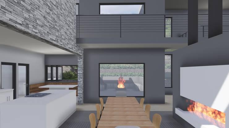 House JVR:  Houses by Kraft Architects , Modern