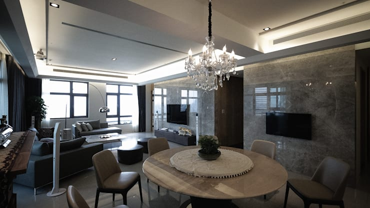 Dining room by 璞碩室內裝修設計工程有限公司