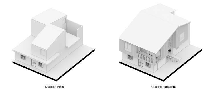 Häuser von Pequeña Escala Arquitectura, Modern