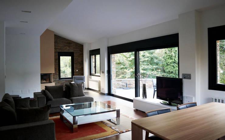 Livings de estilo  por Intra Arquitectos